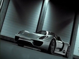 Porsche 918 Spyder Hybrid Concept Car Video