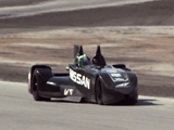 Nissan DeltaWing's First On-Track Test