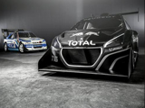 Sebastien Loeb and the 208 T16 Pikes Peak