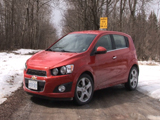 2013 Chevrolet Sonic Turbo Review: Video Car Review Test Drive