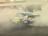 Burnout On The Las Vegas Strip: Jimmie Johnson Video GM