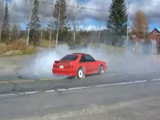 1991 Ford Mustang Gt Burnout