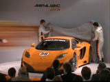 The McLaren MP4-12C GT3 Launch