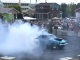 camaro 572 big burnout (Chevrolet, gm)