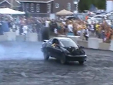 v8 Cavalier burnout and crash (GM)