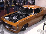 2011 SEMA Show Video Coverage - Sick Seconds '69 Camaro Gear Vendors V8TV