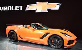 2019 Corvette ZR1 Convertible | Corvette shines in LA with its global introduction