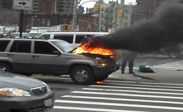 Car Catches Fire - Who Pays For The Damages?