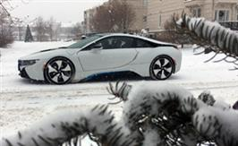 2018 BMW i8: A vision of the future - now