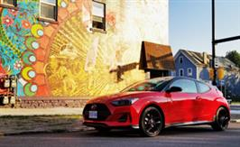2019 Hyundai Veloster Turbo: Putting the Fun in Funky