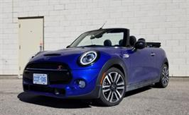 2019 Mini Cooper S Convertible: German engineering plus iconic British charm equals fun