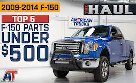 Top 5 F150 Mods Under $500 | The Haul
