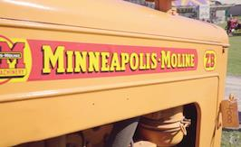 Minneapolis Moline Antique Tractor - Family History in Action