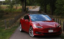 2016 Tesla Model S P90D Review | Faster Than Lightning