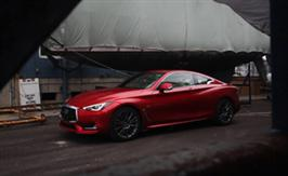 2017 Infiniti Q60s Red Sport: Elegantly Aggressive