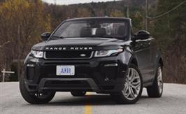 Range Rover Evoque Convertible: It's weird but it works
