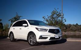 2017 Acura MDX Sport Hybrid: Smooth sailing ahead
