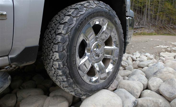 Bf Goodrich All Terrain >> BFGoodrich All-Terrain T/A K02 Tire Takes On The Wilderness :: Wheels on Edge