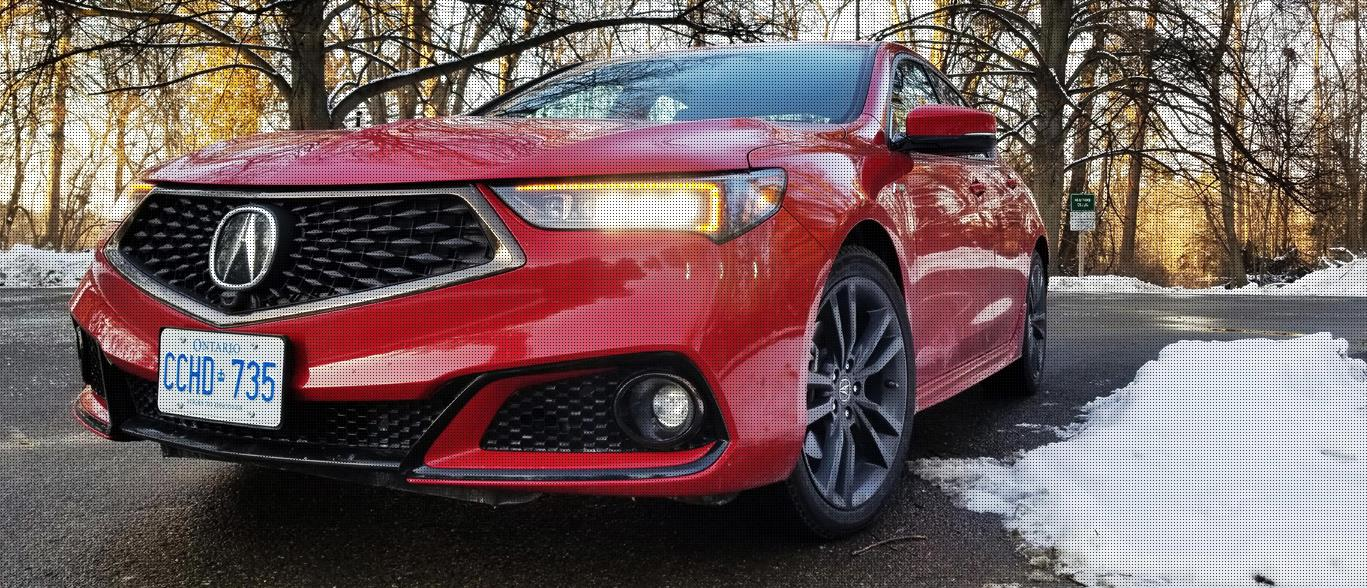 2018 Acura TLX A-Spec: Sporty but sensible