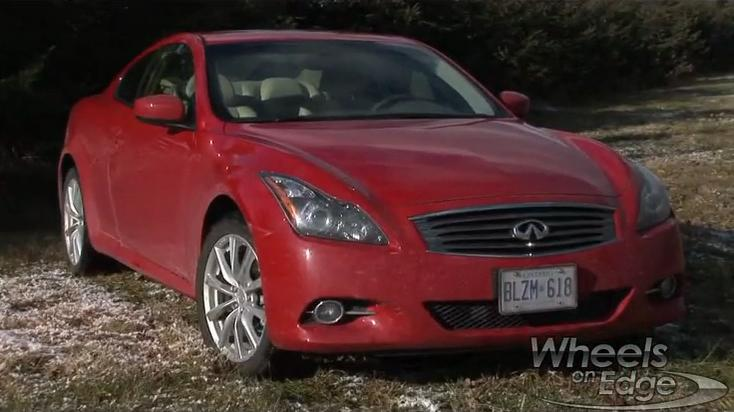 Infiniti G37 X Coupe Test Drive: 2012 Video Car Review