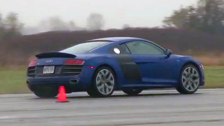 2010 Audi R8 Review: Video Car Review Test Drive