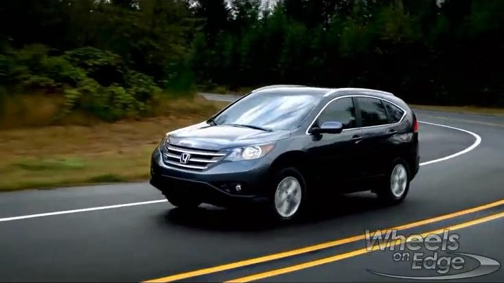 Honda CR-V Road Test: 2012 Video Car Review