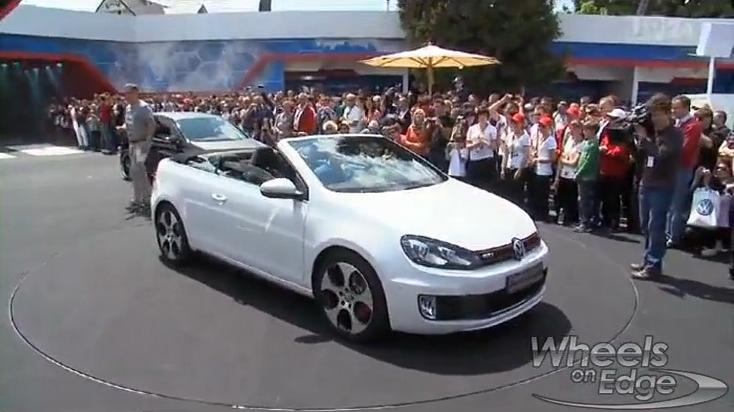 Volkswagen Golf Cabrio Spiced Up: GTI on Lake Worthersee
