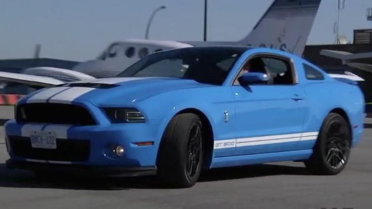 Behind the Wheel with Shell V-Power- 2013 Ford Shelby Mustang Review