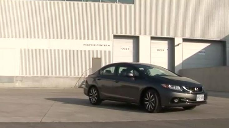 2013 Honda Civic Road Test: Video Car Review