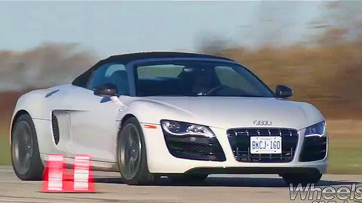 2011 Audi R8 Spyder Review: Video Car Review Test Drive