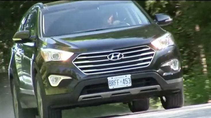 2013 Hyundai Santa Fe XL Review - Video Test Drive