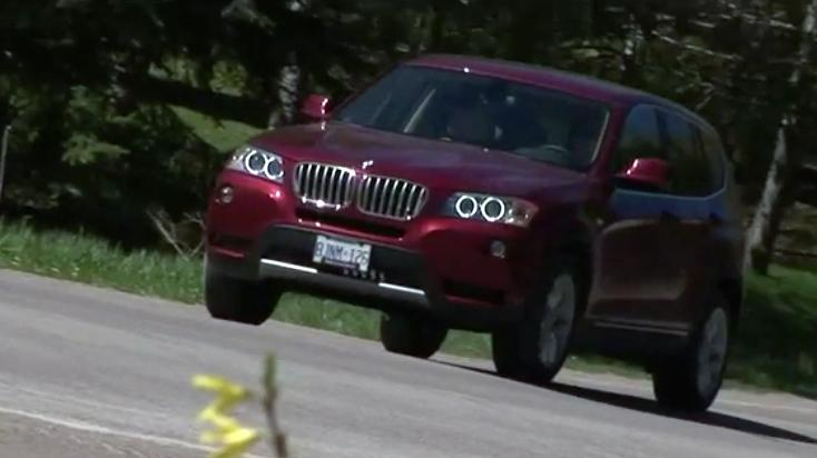 2013 BMW X3 Review - Video Test Drive
