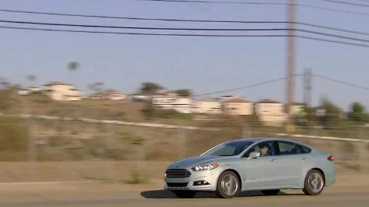 2013 Ford Fusion Hybrid Review - Video Test Drive