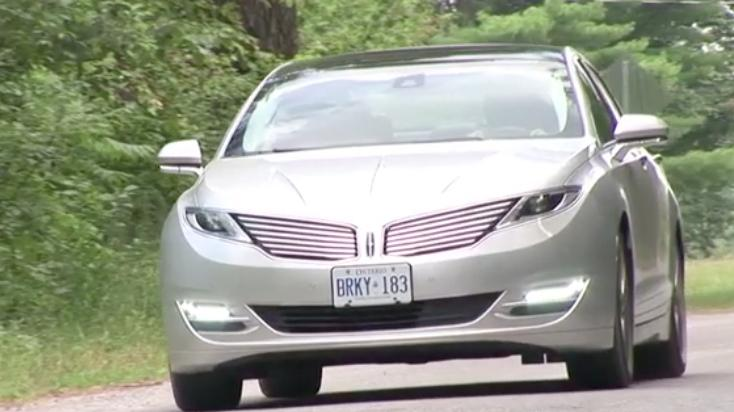2013 Lincoln MKZ Hybrid Review | Video Test Drive, Ratings, Auto Specs, Price