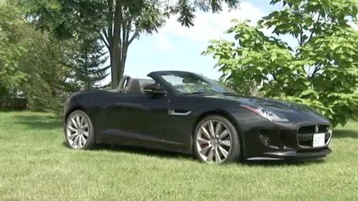 2014 Jaguar F-Type V6 Sport Review | Video Test Drive, Ratings, specs, price