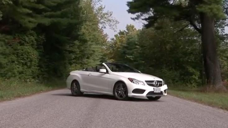2014 Mercedes-Benz E550 Cabriolet Review | Video Test Drive, Ratings, specs, price