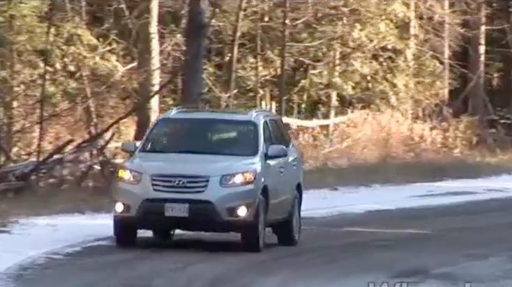 Hyundai Sante Fe Limited Test Drive: 2011 Video Car Review