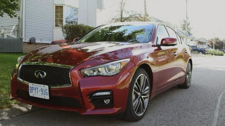 Behind the Wheel with Shell V-Power - 2014 Infiniti Q50 Review