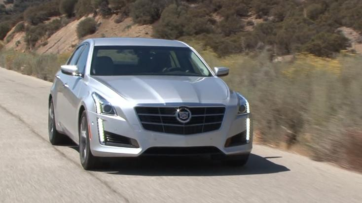 2014 Cadillac CTS V-Sport Review | Video Test Drive