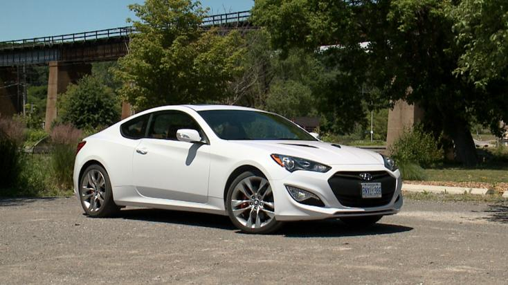 2014 Hyundai Genesis Coupe GT Review | Video Test Drive