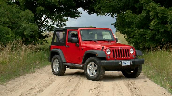 2014 Jeep Wrangler Sport Review | Video Test Drive