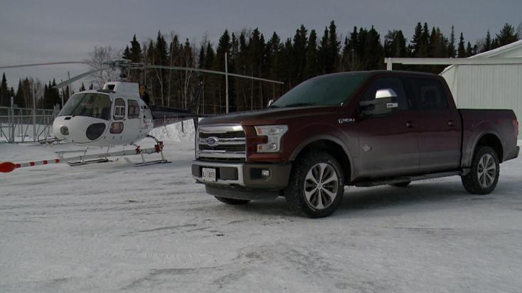 2015 Ford F-150 Takes On The Cold In Quebec