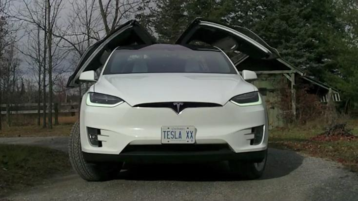 2016 Tesla Model X | Video Car Review
