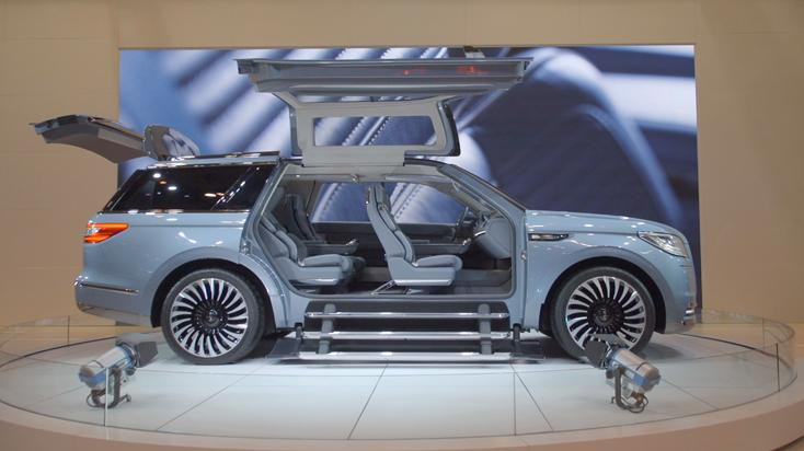 The Lincoln Navigator Concept | Taking A Yacht To The Road