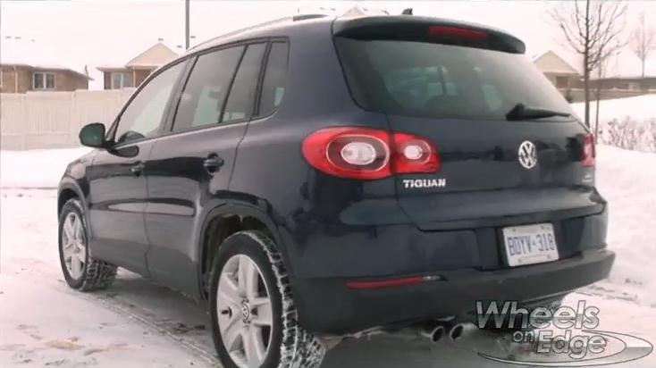 Volkswagen Tiguan Test Drive: 2011 Video Car Review