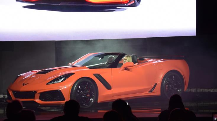 2019 Corvette ZR1 Convertible Design