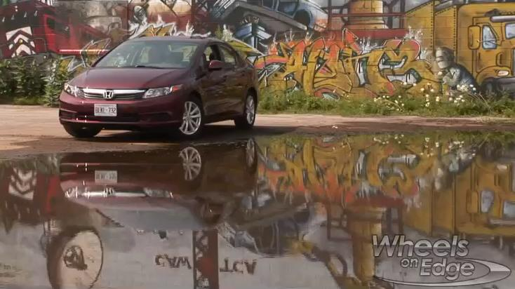 2012 Honda Civic Sedan Video Car Review | Reim Time