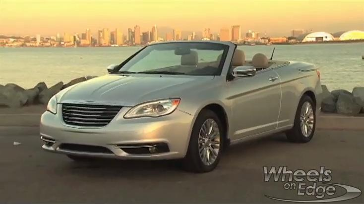 Chrysler 200 Convertible Test Drive: 2011 Video Car Review