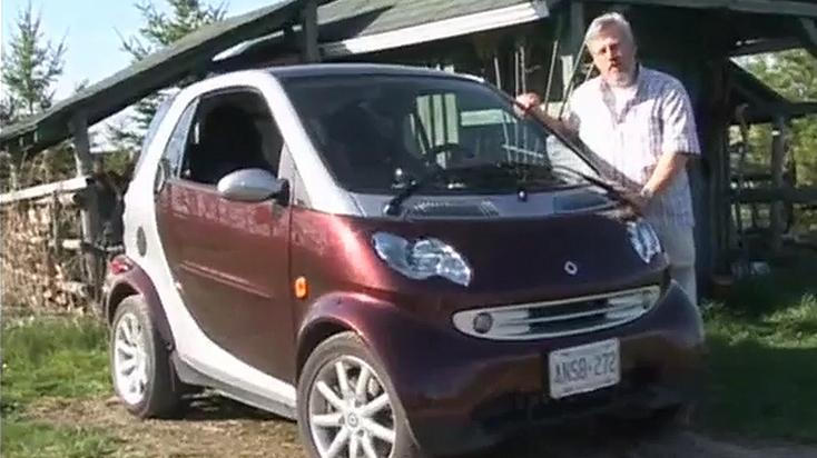 Smart ForTwo Test Drive, Video Car Review