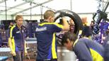 Inside the Michelin Tire Compound at Le Mans